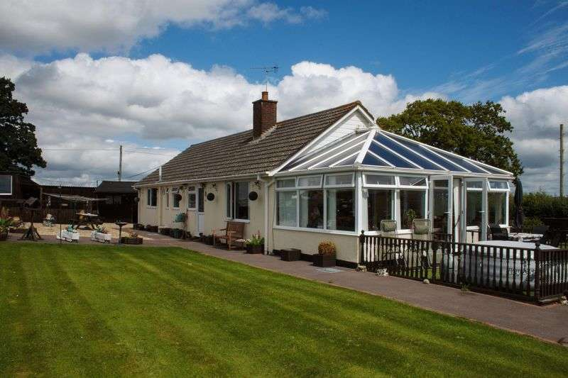 3 Bedrooms Detached Bungalow for sale in Elm Tree Bungalow, Morchard Bishop