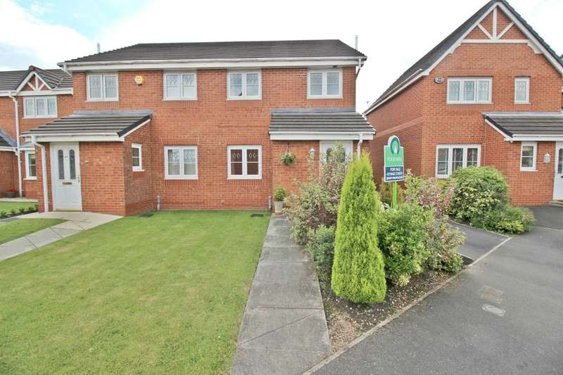 3 Bedrooms Semi Detached House for sale in Weavermill Park, Ashton-In-Makerfield, Wigan, WN4