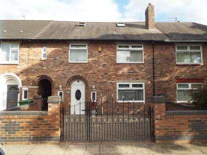 3 Bedrooms Terraced House for sale in Adair Road, Liverpool, Merseyside, L13