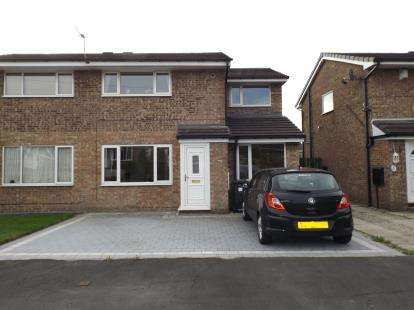 3 Bedrooms Semi Detached House for sale in Higher Drake Meadow, Westhoughton, Bolton, Greater Manchester, BL5