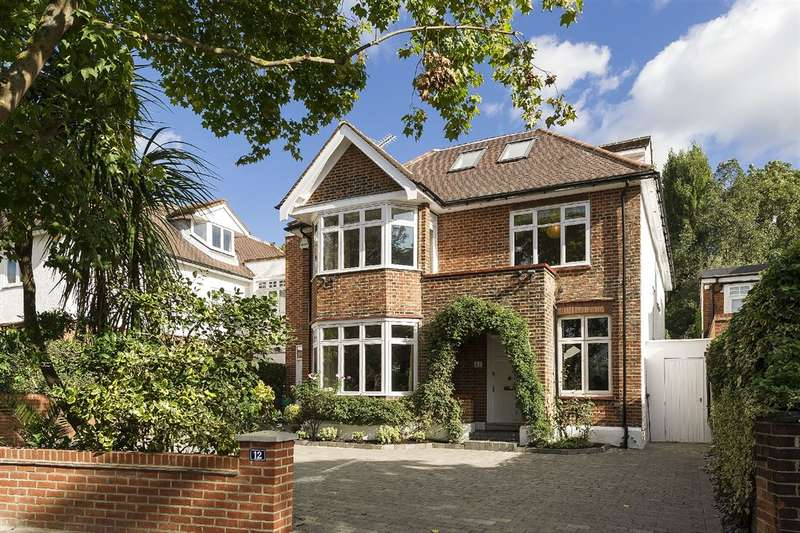 6 Bedrooms House for sale in Alvanley Gardens, West Hampstead, NW6