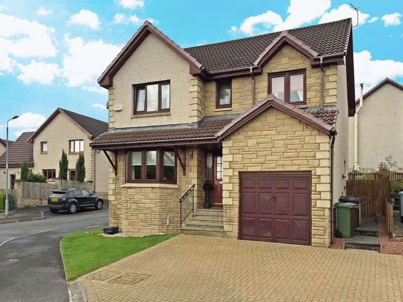 4 Bedrooms Detached House for sale in Tinto Drive, Cumbernauld