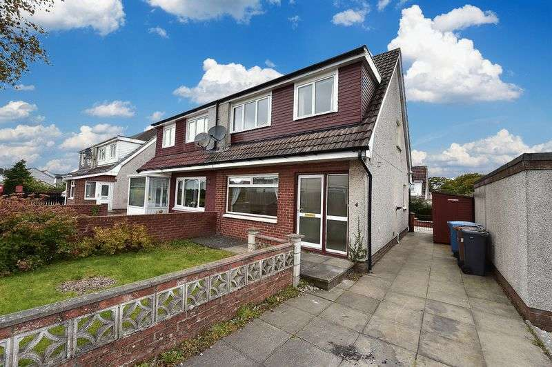 3 Bedrooms Semi Detached House for sale in Glenburn Gardens, Whitburn, EH47 8NL