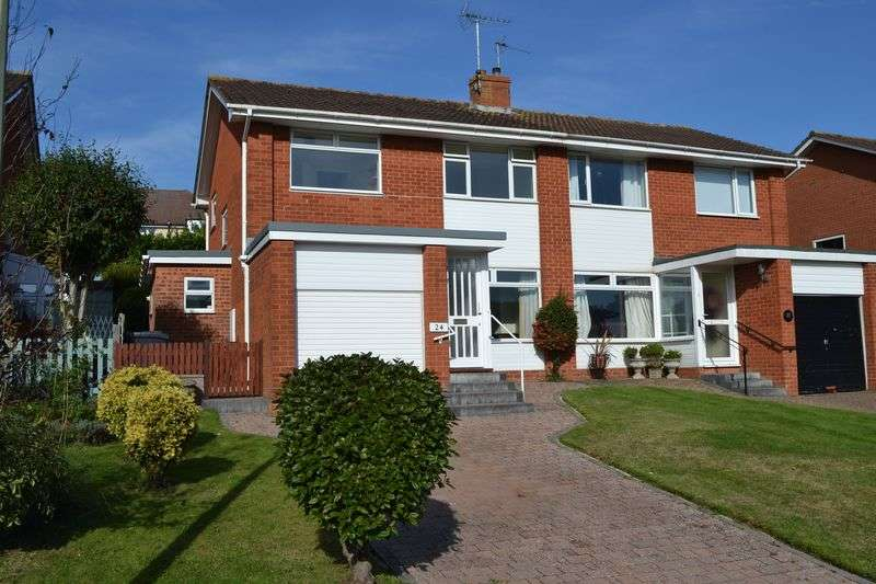 3 Bedrooms Semi Detached House for sale in Fleming Avenue, Sidford