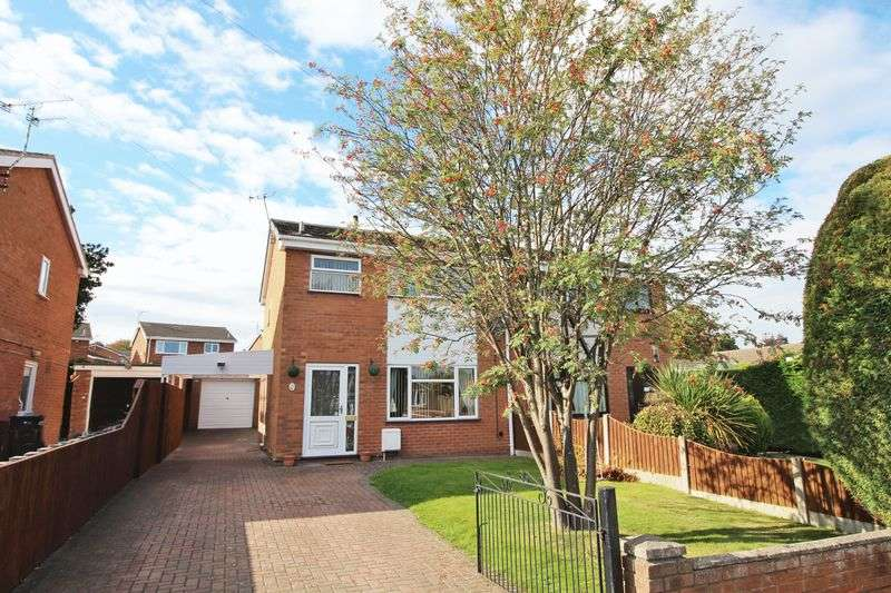 3 Bedrooms Semi Detached House for sale in Y Fron, Nant Parc, Johnstown, Wrexham