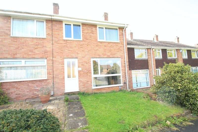 3 Bedrooms Terraced House for sale in Quantock Close Warmley BRISTOL