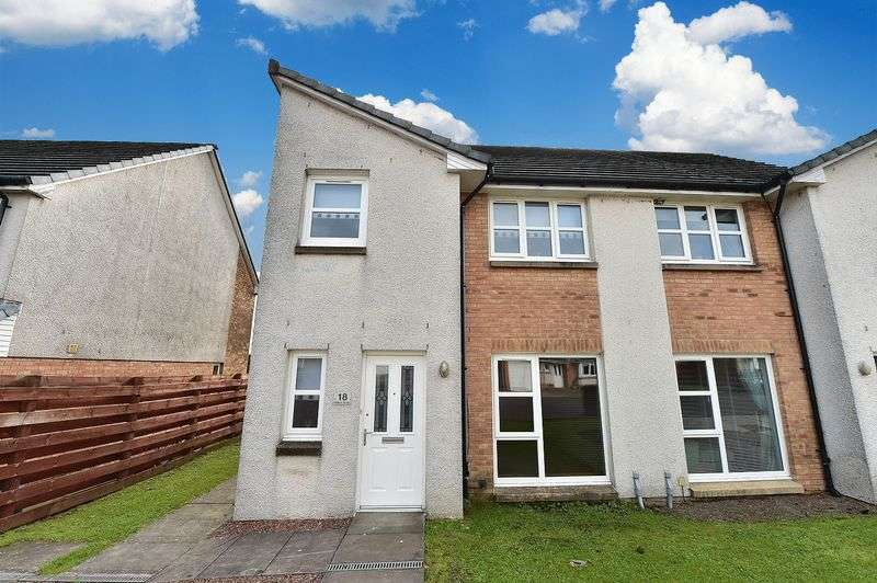 3 Bedrooms Semi Detached House for sale in Millbarr Grove, Beith