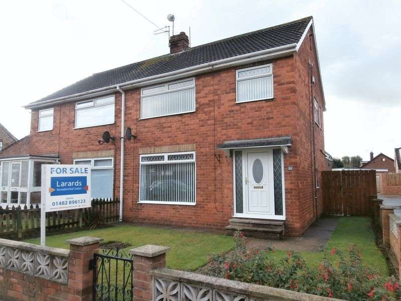 3 Bedrooms Semi Detached House for sale in Galfrid Road, Bilton