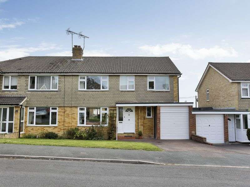 5 Bedrooms Semi Detached House for sale in Burns Way, East Grinstead