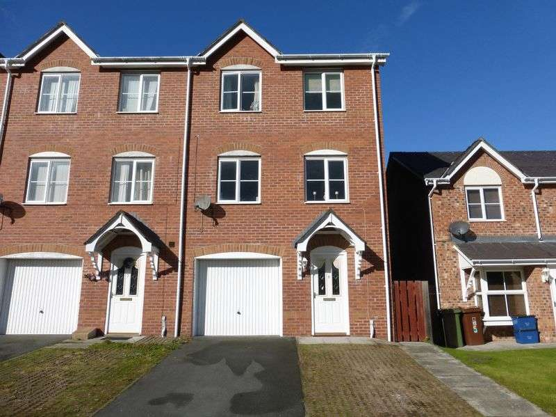 4 Bedrooms Terraced House for sale in Bangor