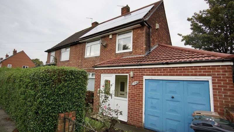 3 Bedrooms Semi Detached House for sale in WHEATFIELD GROVE, Benton