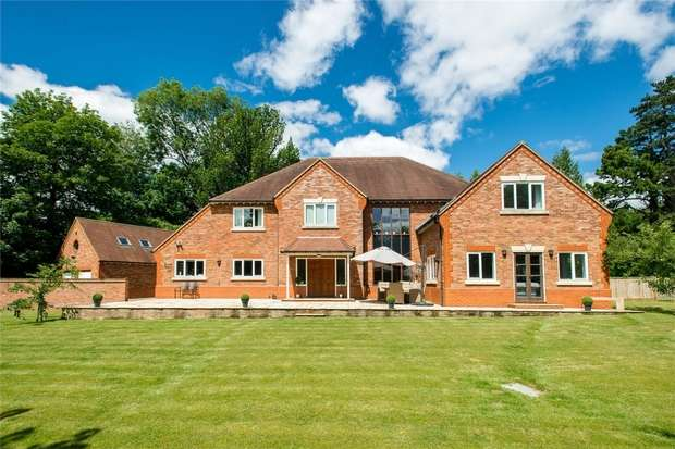7 Bedrooms Detached House for sale in Shawford, Winchester, Hampshire