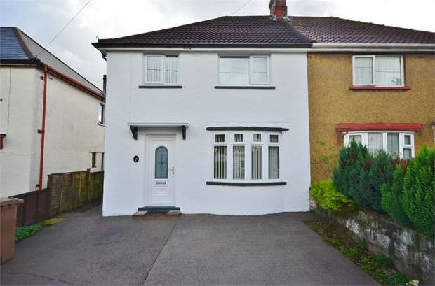 3 Bedrooms Semi Detached House for sale in Celyn Avenue, CAERPHILLY