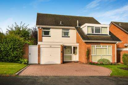 4 Bedrooms Detached House for sale in Marwood Croft, Sutton Coldfield, West Midlands, .