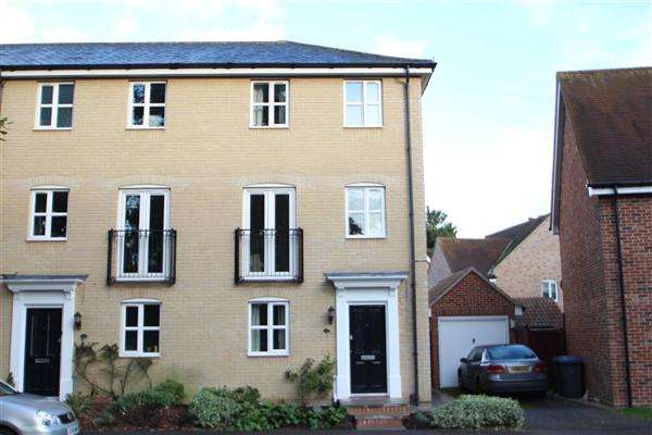4 Bedrooms End Of Terrace House for sale in Thomas Crescent, Grange Farm, Kesgrave, Ipswich