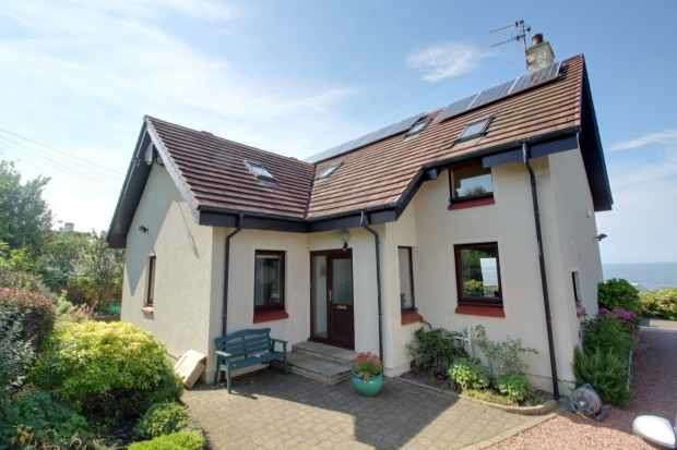 4 Bedrooms Detached House for sale in Castle Road, Dunure, Ayr, Ayrshire, KA7 4LW