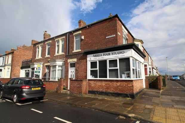 2 Bedrooms Terraced House for sale in Trajan Street, South Shields, Tyne And Wear, NE33 2AW