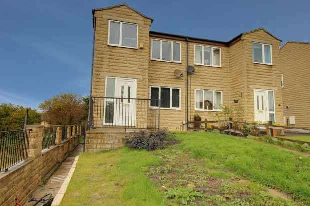 3 Bedrooms Semi Detached House for sale in Clarkson Close, Heckmondwike, West Yorkshire, WF16 9LY