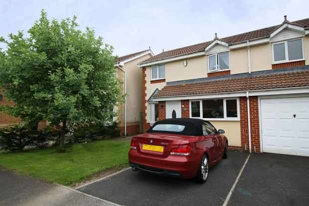 3 Bedrooms Semi Detached House for sale in Dean Park, Ferryhill, Durham, DL17 8HP