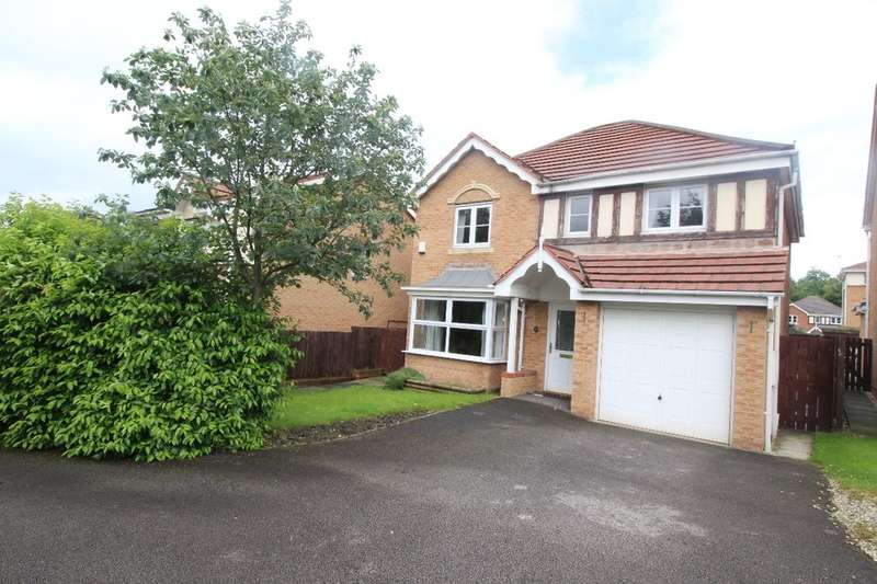 4 Bedrooms Detached House for sale in Dayhouse Court, Barnsley, S75