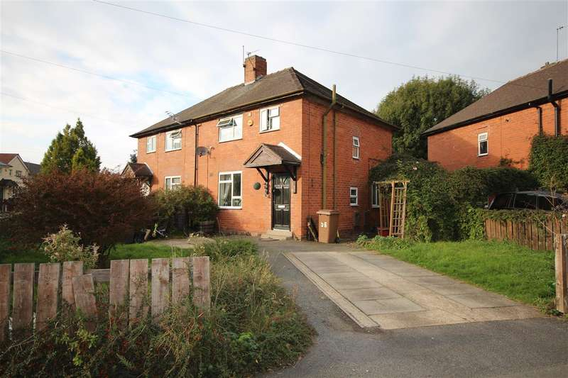 3 Bedrooms Semi Detached House for sale in Boweswell Road, Ilkeston
