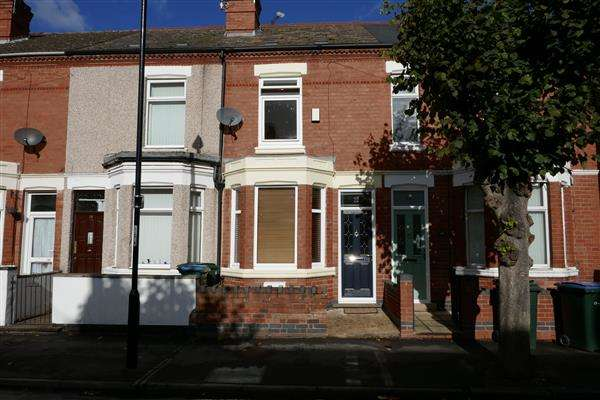 2 Bedrooms Terraced House for sale in Hugh Road, Stoke, Coventry