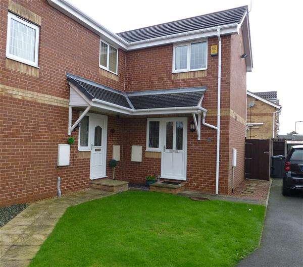 2 Bedrooms Semi Detached House for sale in Stoney Bank Drive, Kiveton Park, Sheffield