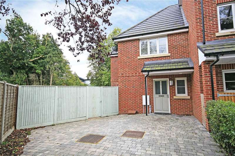 Terraced House for sale in Bentley Place, York Close, Byfleet, West Byfleet, KT14