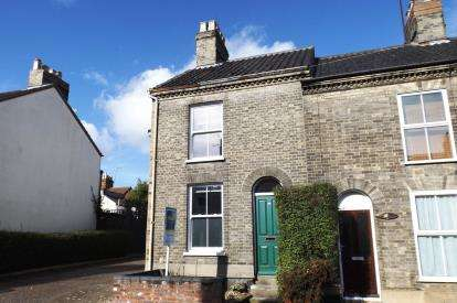 2 Bedrooms End Of Terrace House for sale in Norwich, Norfolk, .