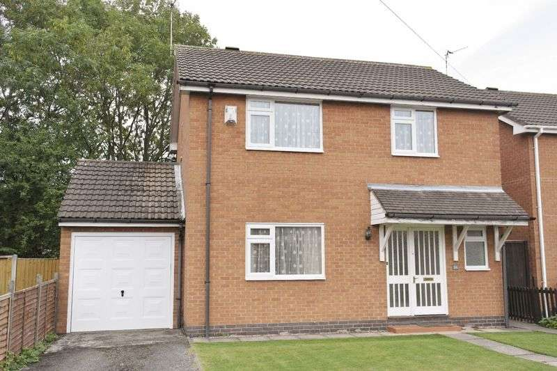 4 Bedrooms Detached House for sale in St. Marys Avenue, Braunstone