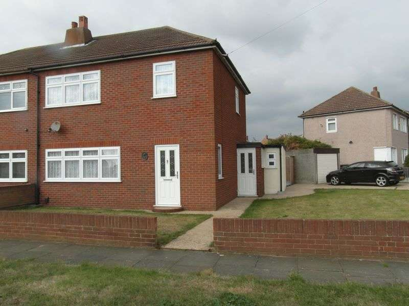3 Bedrooms Semi Detached House for sale in Hall Road, South Ockendon