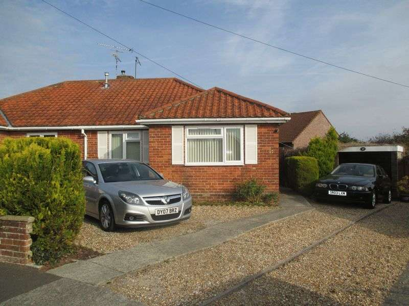 2 Bedrooms Semi Detached Bungalow for sale in Glenthorne Avenue, Yeovil