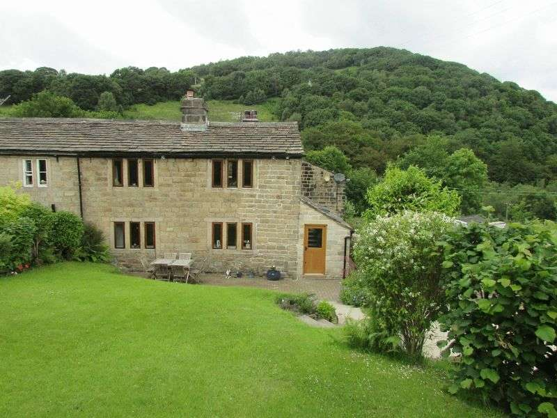3 Bedrooms Semi Detached House for sale in Cragg Vale, Hebden Bridge