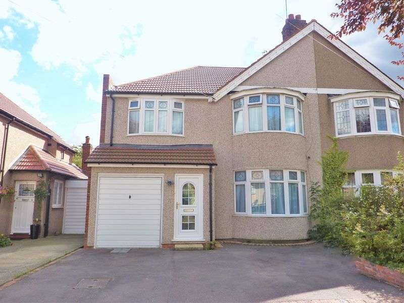 4 Bedrooms Semi Detached House for sale in Westbrooke Road, Sidcup
