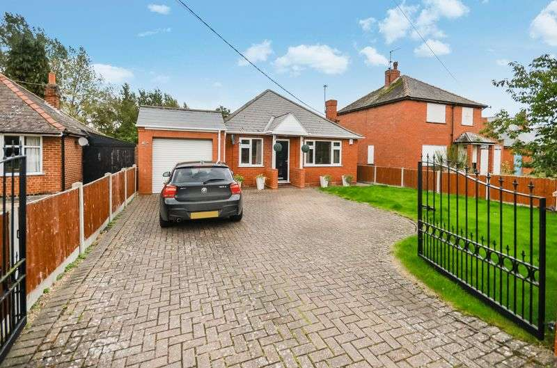 3 Bedrooms Detached Bungalow for sale in 50 Thorpe Lane, South Hykeham, Lincoln, LN6 9NW