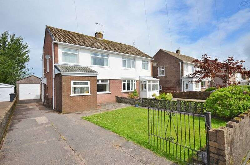 3 Bedrooms Semi Detached House for sale in Queens Close, Whitehaven