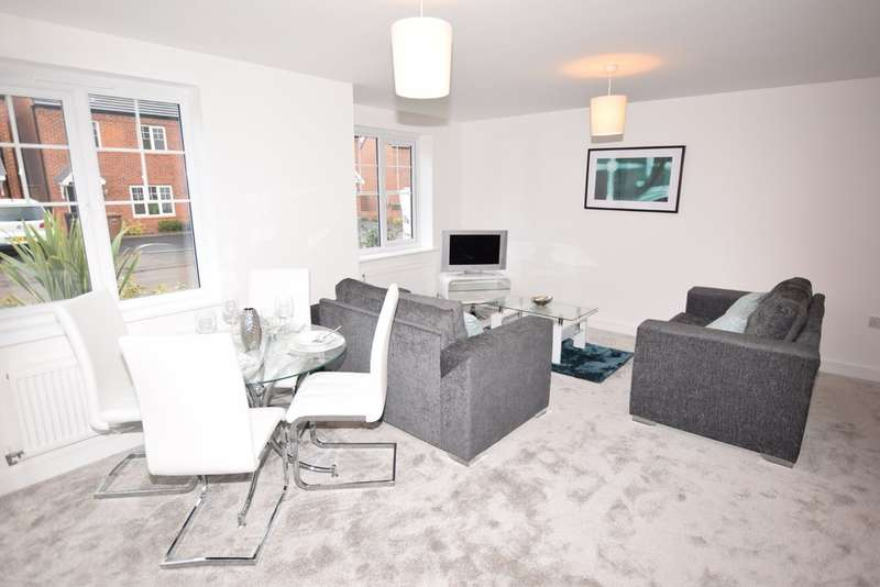 2 Bedrooms Ground Flat for sale in Dickens Manor, Dickens Heath