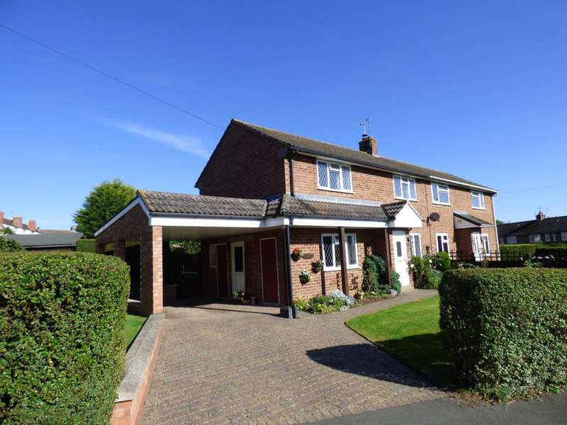 3 Bedrooms Semi Detached House for sale in St Nicholas Road, Radford Semele
