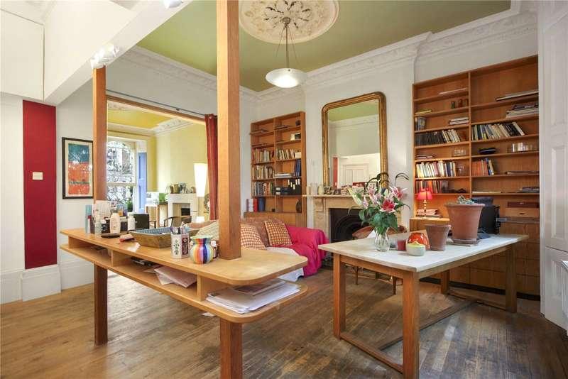 2 Bedrooms Ground Maisonette Flat for sale in Leamington Road Villas, London, W11