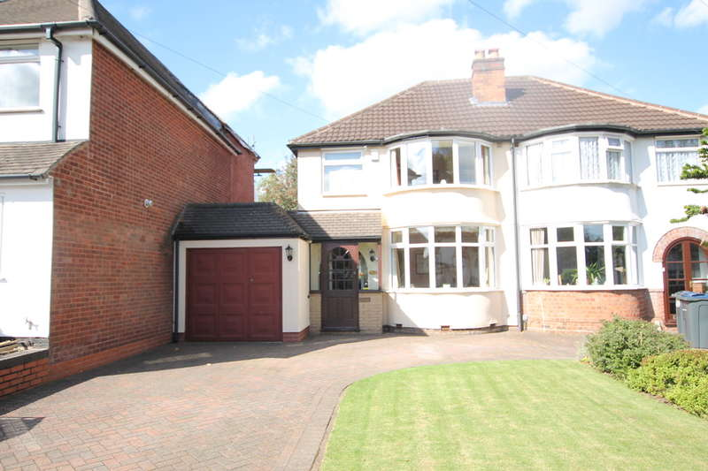 3 Bedrooms Semi Detached House for sale in Westwood Road, Sutton Coldfield B73 6UQ