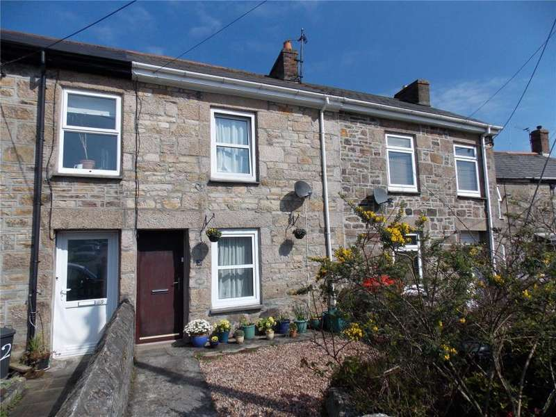 3 Bedrooms Terraced House for sale in Brays Terrace, Lanner, Redruth