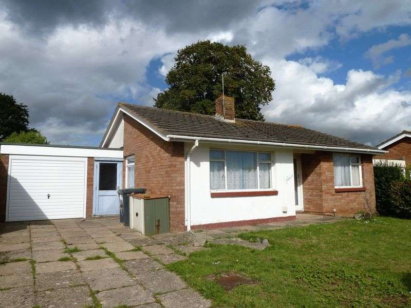 2 Bedrooms Detached Bungalow for sale in Courtenay Close, Starcross