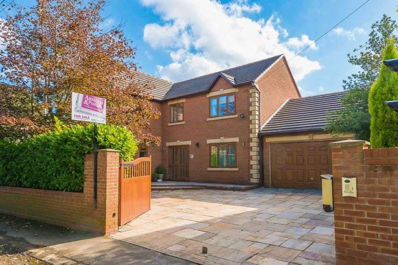 4 Bedrooms Detached House for sale in School Lane, Roby Mill