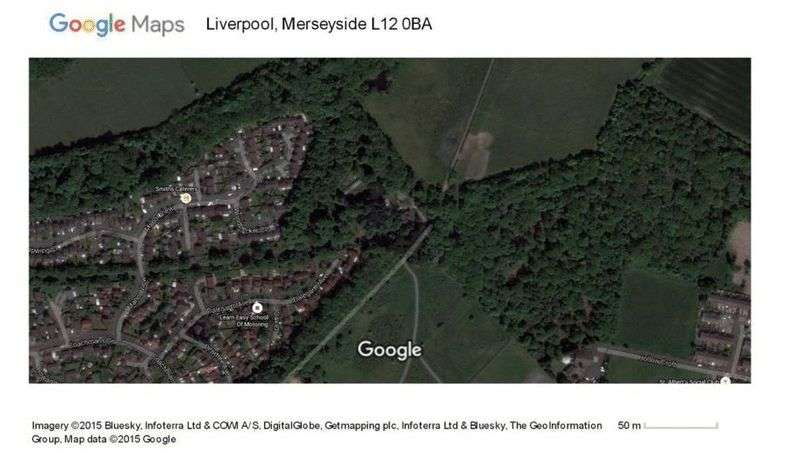 Property for sale in Land for sale at L12 0BA measuring approx 0.4 Acre