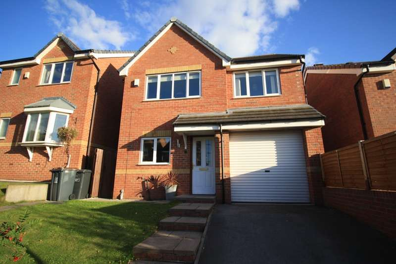 3 Bedrooms Detached House for sale in Willard Close, Newcastle, Staffordshire, ST5