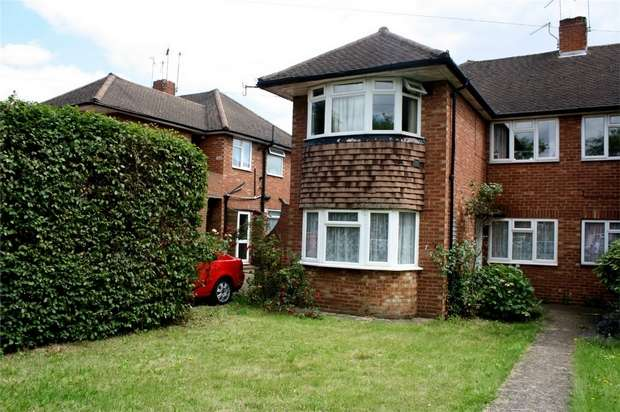 2 Bedrooms Maisonette Flat for sale in Clare Road, Stanwell, Surrey