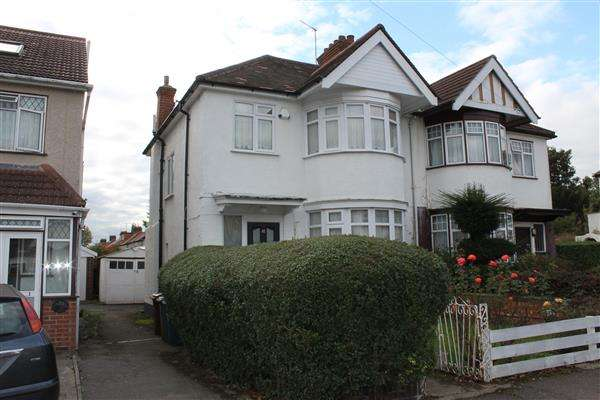 3 Bedrooms Semi Detached House for sale in Kingshill Drive, Harrow