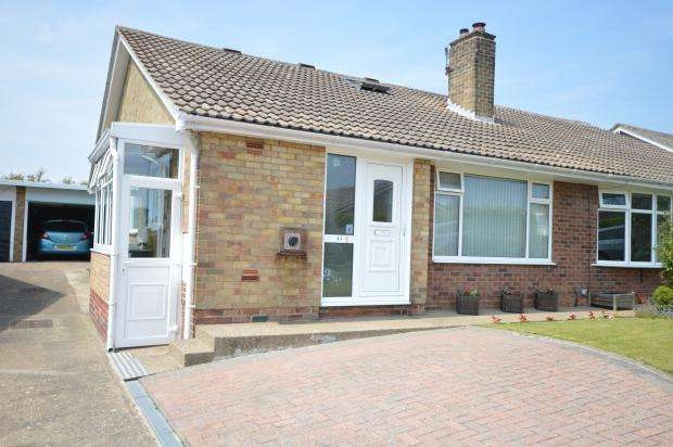 3 Bedrooms Semi Detached Bungalow for sale in Osgodby Hall Road, Osgodby, Scarborough, North Yorkshire YO11 3PX