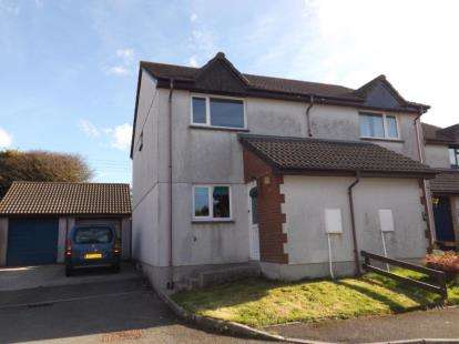 2 Bedrooms Semi Detached House for sale in St. Columb Road, St. Columb, Cornwall