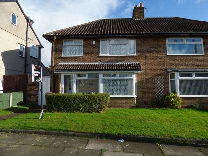 3 Bedrooms Semi Detached House for sale in Eden Drive North, Liverpool, Merseyside, L23